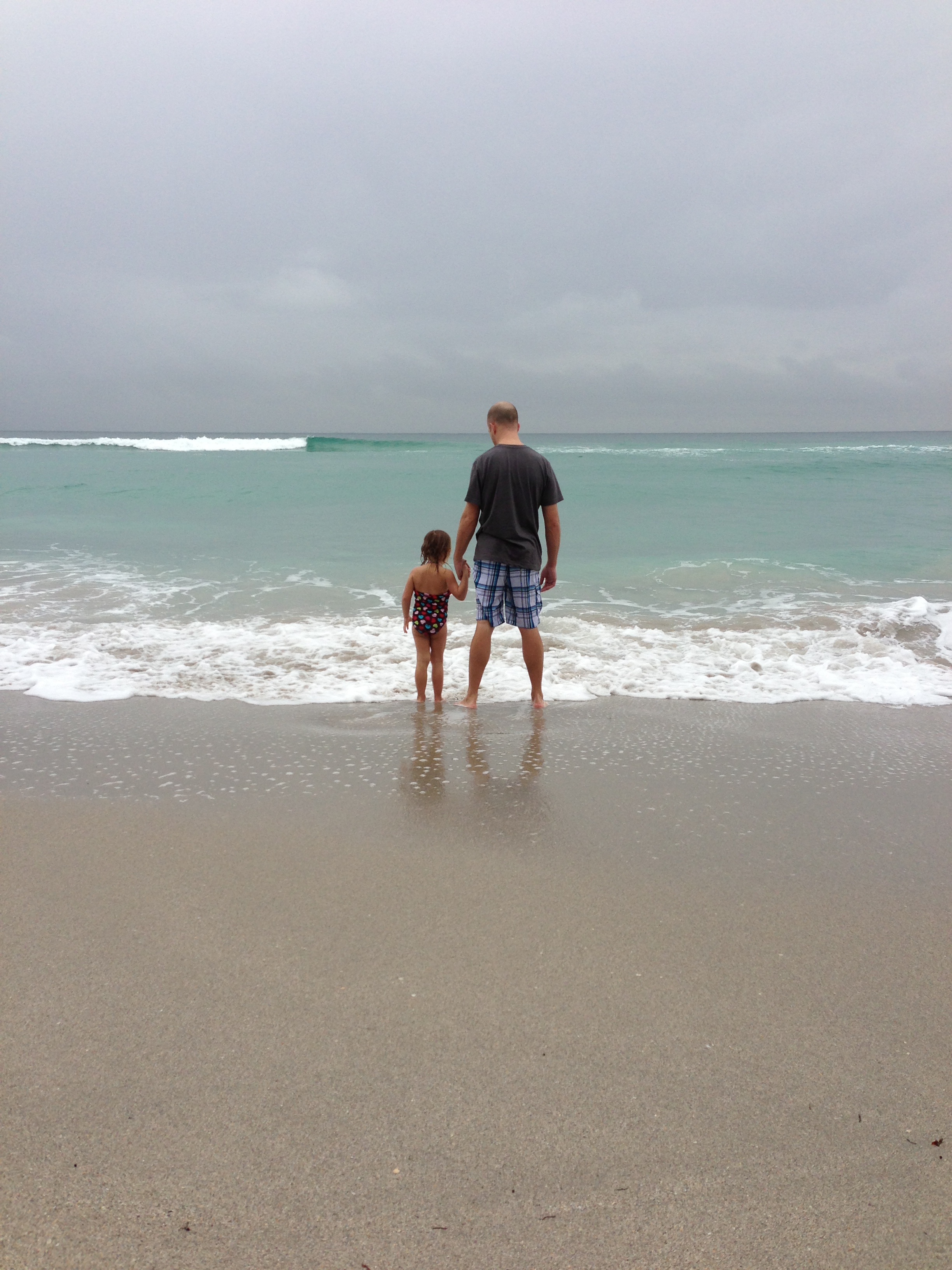 j and daddy beach